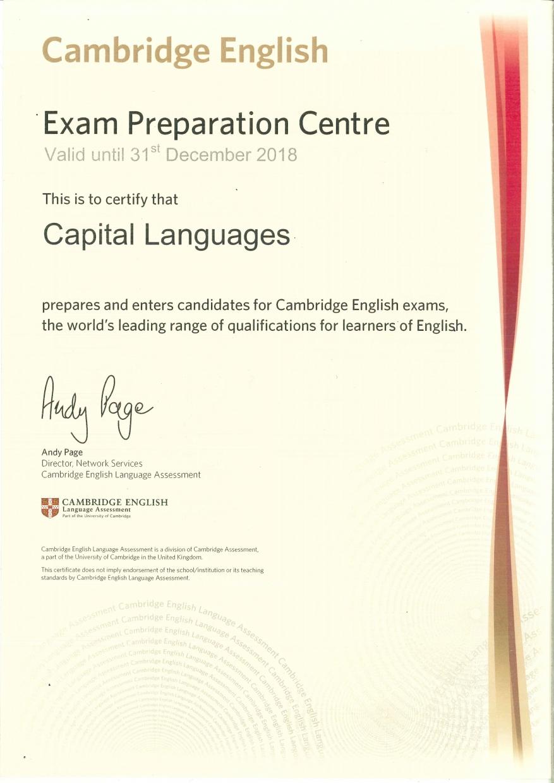 Centro preparador oficial Cambridge