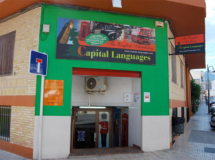 CAPITAL LANGUAGES Muro de Alcoy